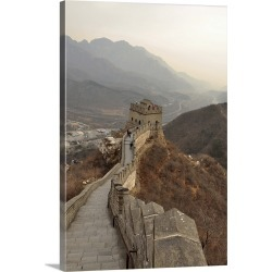 Large Gallery-Wrapped Canvas Wall Art Print 16 x 24 entitled Great Wall of China in Beijing, china. found on Bargain Bro India from Great Big Canvas - Dynamic for $169.99