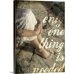 Large Gallery-Wrapped Canvas Wall Art Print 18 x 24 entitled One Thing Needed found on Bargain Bro India from Great Big Canvas - Dynamic for $234.99