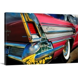 Large Solid-Faced Canvas Print Wall Art Print 30 x 20 entitled '58 Buick Century - Holland