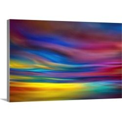 Large Solid-Faced Canvas Print Wall Art Print 30 x 20 entitled Late Afternoon