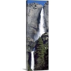 Large Solid-Faced Canvas Print Wall Art Print 16 x 48 entitled Yosemite National Park CA