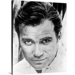 Large Gallery-Wrapped Canvas Wall Art Print 18 x 24 entitled William Shatner, ca. early 1960s, Head Shot found on Bargain Bro India from Great Big Canvas - Dynamic for $184.99