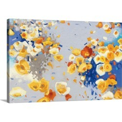 Large Solid-Faced Canvas Print Wall Art Print 30 x 20 entitled Millefiori
