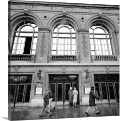 Large Gallery-Wrapped Canvas Wall Art Print 16 x 16 entitled Low angle view of an opera house, Orchestra Hall, Michigan Av... found on Bargain Bro India from Great Big Canvas - Dynamic for $169.99