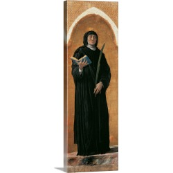 Large Solid-Faced Canvas Print Wall Art Print 12 x 36 entitled Saint Felicity of Padua