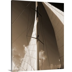 Large Gallery-Wrapped Canvas Wall Art Print 16 x 20 entitled Windward Sail IV found on Bargain Bro India from Great Big Canvas - Dynamic for $189.99