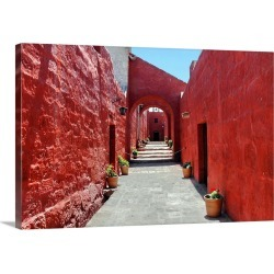 Large Gallery-Wrapped Canvas Wall Art Print 24 x 16 entitled Vanishing red found on Bargain Bro India from Great Big Canvas - Dynamic for $214.99