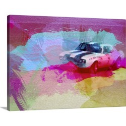 Large Gallery-Wrapped Canvas Wall Art Print 24 x 18 entitled Camaro Racing found on Bargain Bro India from Great Big Canvas - Dynamic for $234.99