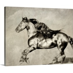 Large Solid-Faced Canvas Print Wall Art Print 30 x 24 entitled Wind Blown Mane III found on Bargain Bro Philippines from Great Big Canvas - Dynamic for $189.99
