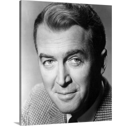 Large Gallery-Wrapped Canvas Wall Art Print 20 x 24 entitled James Stewart in The FBI Story - Vintage Publicity Photo found on Bargain Bro India from Great Big Canvas - Dynamic for $254.99