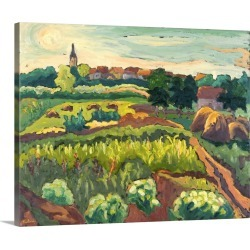 Large Solid-Faced Canvas Print Wall Art Print 45 x 36 entitled Suburban Gardens, 2005 found on Bargain Bro Philippines from Great Big Canvas for $424.99