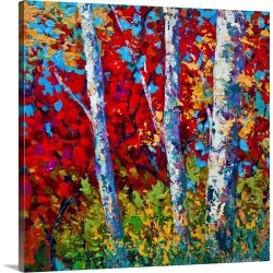 Large Solid-Faced Canvas Print Wall Art Print 20 x 20 entitled A Quiet Pause