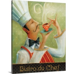 Large Gallery-Wrapped Canvas Wall Art Print 16 x 20 entitled Cafe Moustache I found on Bargain Bro India from Great Big Canvas - Dynamic for $189.99