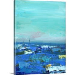Large Solid-Faced Canvas Print Wall Art Print 30 x 40 entitled By the Water
