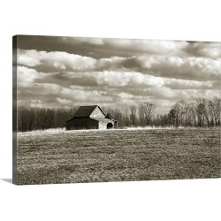 Large Solid-Faced Canvas Print Wall Art Print 36 x 24 entitled Cloudy Skies II found on Bargain Bro Philippines from Great Big Canvas for $259.99