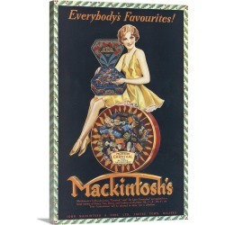 Large Gallery-Wrapped Canvas Wall Art Print 16 x 24 entitled Mackintosh's Candies found on Bargain Bro India from Great Big Canvas - Dynamic for $214.99
