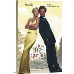 Large Solid-Faced Canvas Print Wall Art Print 20 x 30 entitled How to Lose a Guy in 10 Days (2003)