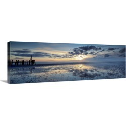 Large Gallery-Wrapped Canvas Wall Art Print 36 x 13 entitled  A Question of Hope found on Bargain Bro India from Great Big Canvas - Dynamic for $309.99