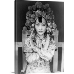 Large Gallery-Wrapped Canvas Wall Art Print 22 x 30 entitled Anna May Wong (1905-1961), Chinese-American actress found on Bargain Bro Philippines from Great Big Canvas - Dynamic for $219.99