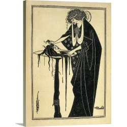 Large Gallery-Wrapped Canvas Wall Art Print 18 x 24 entitled Illustrated edition from Oscar Wilde's play Salome found on Bargain Bro India from Great Big Canvas - Dynamic for $234.99