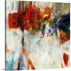 Large Gallery-Wrapped Canvas Wall Art Print 20 x 20 entitled Camera obscura
