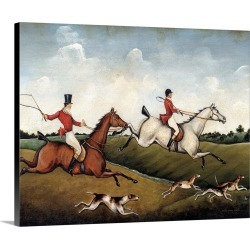 Large Solid-Faced Canvas Print Wall Art Print 30 x 24 entitled The Hunt Crop found on Bargain Bro Philippines from Great Big Canvas for $214.99