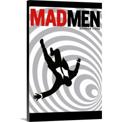 Large Gallery-Wrapped Canvas Wall Art Print 16 x 24 entitled MadMen - TV Poster found on Bargain Bro India from Great Big Canvas - Dynamic for $214.99