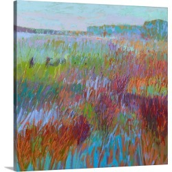 Large Gallery-Wrapped Canvas Wall Art Print 16 x 16 entitled Color Field No. 71