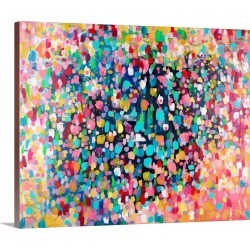 Large Solid-Faced Canvas Print Wall Art Print 30 x 24 entitled Dance, Dance, Dance, 2015