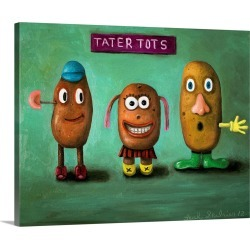 Large Solid-Faced Canvas Print Wall Art Print 30 x 24 entitled Tatter Tots found on Bargain Bro Philippines from Great Big Canvas for $214.99