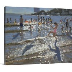 Large Solid-Faced Canvas Print Wall Art Print 45 x 36 entitled Palais Sur Mer, France, 2009 found on Bargain Bro Philippines from Great Big Canvas for $424.99