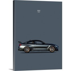 Large Gallery-Wrapped Canvas Wall Art Print 18 x 24 entitled BMW M4 GTS found on Bargain Bro India from Great Big Canvas - Dynamic for $224.99