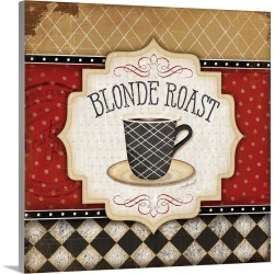 Large Solid-Faced Canvas Print Wall Art Print 20 x 20 entitled Blonde Roast found on Bargain Bro Philippines from Great Big Canvas for $144.99
