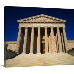 Large Gallery-Wrapped Canvas Wall Art Print 20 x 16 entitled Supreme Court Washington DC