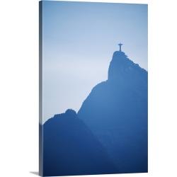 Large Solid-Faced Canvas Print Wall Art Print 20 x 30 entitled Rio De Janeiro, Brazil