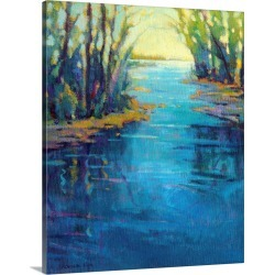 Large Gallery-Wrapped Canvas Wall Art Print 16 x 20 entitled Journey Home
