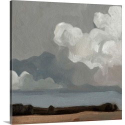 Large Solid-Faced Canvas Print Wall Art Print 20 x 20 entitled Cloud Formation II