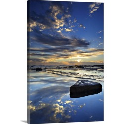 Large Solid-Faced Canvas Print Wall Art Print 20 x 30 entitled Long reef reflection found on Bargain Bro India from Great Big Canvas - Dynamic for $169.99
