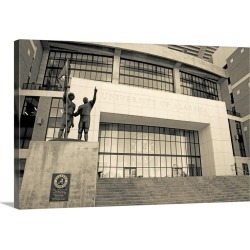 Large Gallery-Wrapped Canvas Wall Art Print 24 x 16 entitled Low angle view of Bryant Denny Stadium, University Of Alabama... found on Bargain Bro India from Great Big Canvas - Dynamic for $224.99