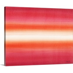 Large Gallery-Wrapped Canvas Wall Art Print 20 x 16 entitled Primal Toner III