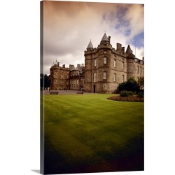 Large Gallery-Wrapped Canvas Wall Art Print 16 x 24 entitled Palace of Holyroodhouse, Edinburgh, Scotland