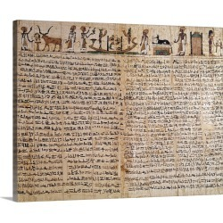 Large Gallery-Wrapped Canvas Wall Art Print 20 x 16 entitled Egyptian Antiquity - Papyrus of the Book of the Dead found on Bargain Bro India from Great Big Canvas - Dynamic for $189.99