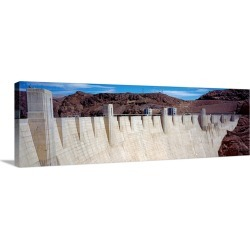 Large Solid-Faced Canvas Print Wall Art Print 60 x 20 entitled Hoover Dam NV found on Bargain Bro Philippines from Great Big Canvas for $349.99
