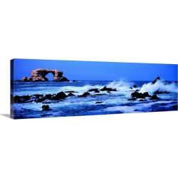 Large Solid-Faced Canvas Print Wall Art Print 48 x 16 entitled La Portada Chile