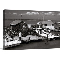 Large Gallery-Wrapped Canvas Wall Art Print 30 x 20 entitled Tangier Island 1 found on Bargain Bro Philippines from Great Big Canvas - Dynamic for $209.99