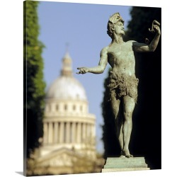 Large Gallery-Wrapped Canvas Wall Art Print 16 x 20 entitled The Pantheon Paris France found on Bargain Bro India from Great Big Canvas - Dynamic for $199.99