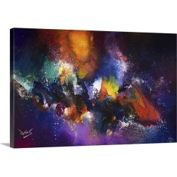 Large Gallery-Wrapped Canvas Wall Art Print 30 x 20 entitled Cosmic Voyage 215 found on Bargain Bro India from Great Big Canvas - Dynamic for $219.99