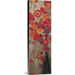 Large Gallery-Wrapped Canvas Wall Art Print 10 x 30 entitled Garden Parade II found on Bargain Bro India from Great Big Canvas - Dynamic for $134.99