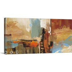 Large Gallery-Wrapped Canvas Wall Art Print 24 x 12 entitled Epic Story II found on Bargain Bro India from Great Big Canvas - Dynamic for $174.99