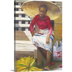 Large Gallery-Wrapped Canvas Wall Art Print 17 x 24 entitled Big Hat (2007) found on Bargain Bro India from Great Big Canvas - Dynamic for $229.99